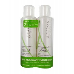 EXOMEGA GEL MOUSSANT EMOLIENTE 500ML+500ML